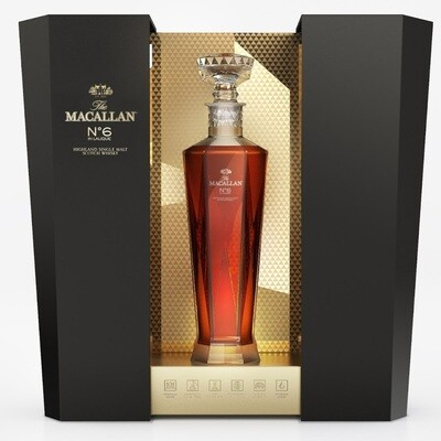 Macallan 'No6 in Lalique' Single Malt Scotch Whisky