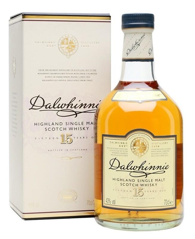 Dalwhinnie '15 Years Old' Single Malt Scotch Whisky