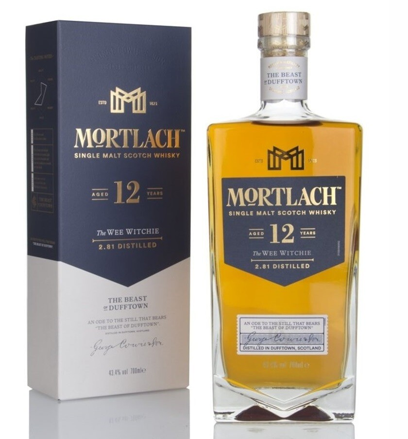 Mortlach '12 Years Old' Single Malt Scotch Whisky