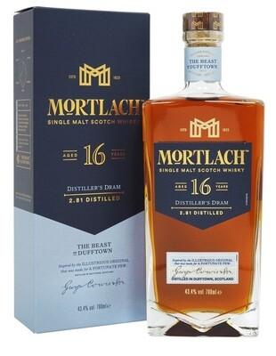 Mortlach '16 Years Old' Single Malt Scotch Whisky