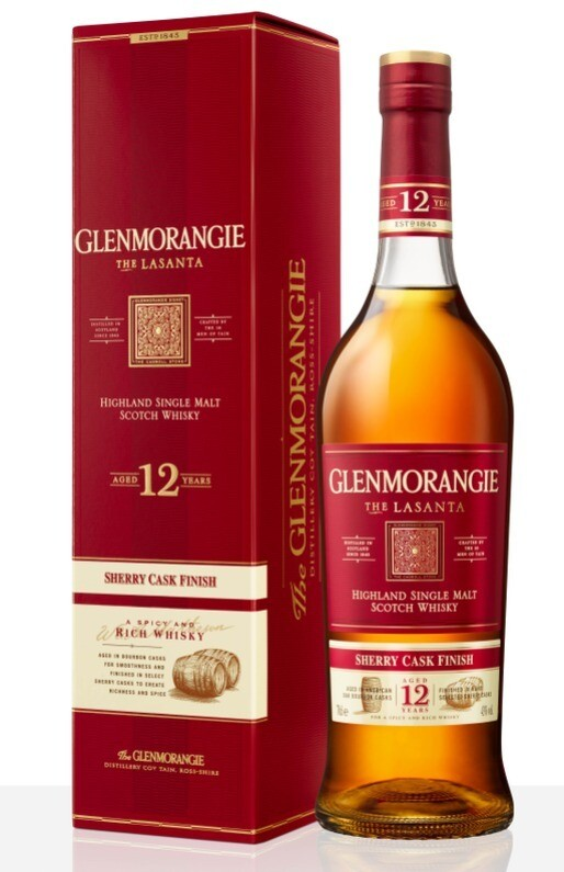 Glenmorangie 'The Lasanta - 12 Years Old' Single Malt Scotch Whisky