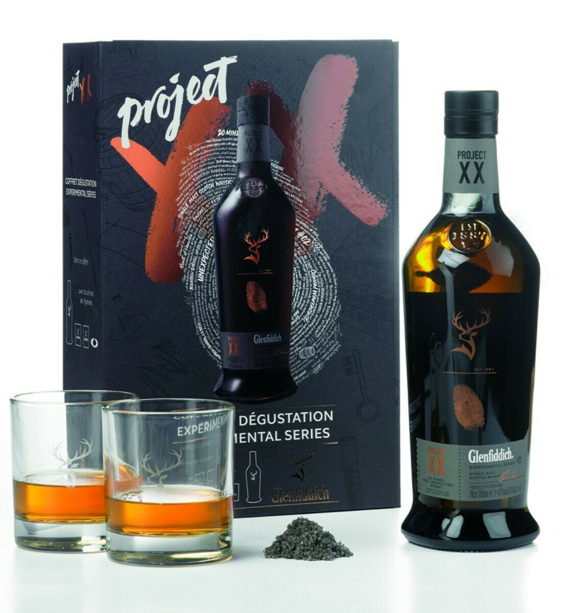 Glenfiddich 'Project XX' Single Malt Scotch Whisky (Limited Edition Gift Box with 2 Glasses)