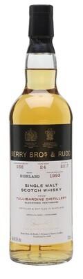 Berry Bros. & Rudd Single Malt Scotch Whisky – 24 Years Old 'Tullibardine' Single Cask 1993