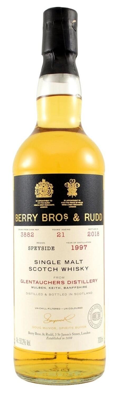 Berry Bros. & Rudd Single Malt Scotch Whisky – 21 Years Old 'Glentauchers' Single Cask 1997
