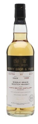 Berry Bros. & Rudd Single Grain Scotch Whisky – 20 Years Old 'North British' Single Cask 1996