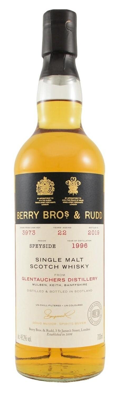 Berry Bros. & Rudd Single Malt Scotch Whisky – 22 Years Old 'Glentauchers' Single Cask 1996