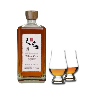 (Free Nosing Glasses) Kura '8 Years Old' White Oak Awamori