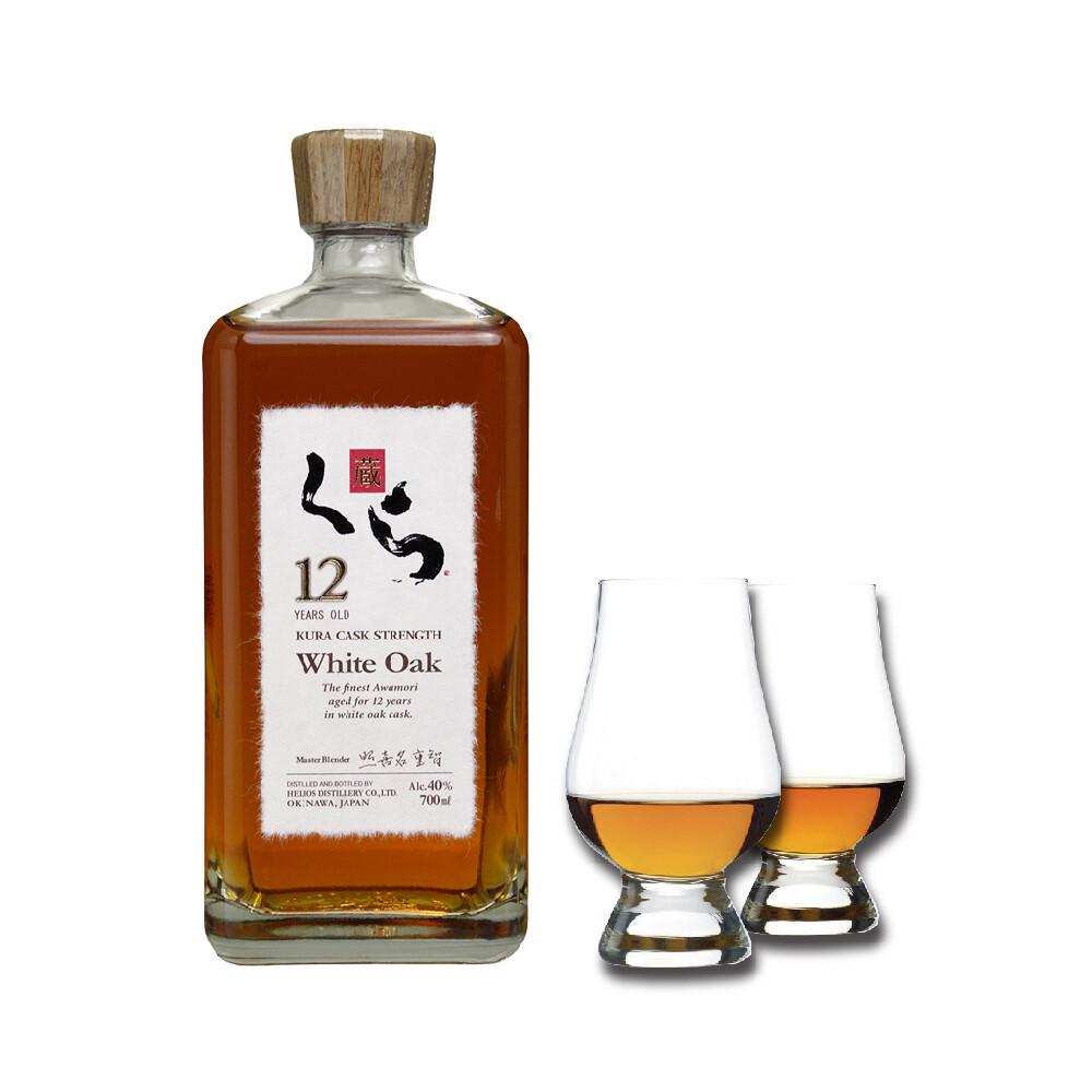 (Free Nosing Glass) Kura '12 Years Old' White Oak Awamori
