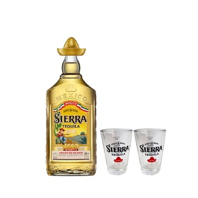 (Free 4cl Shooter Glass) Sierra 'Reposado' Tequila