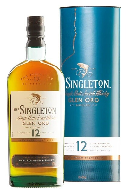 The Singleton of Glen Ord '12 Years Old 'Single Malt Scotch Whisky