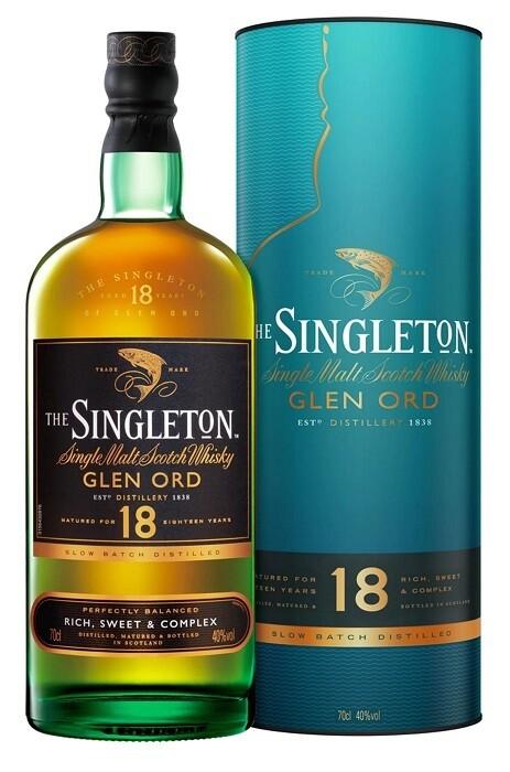 The Singleton of Glen Ord '18 Years Old 'Single Malt Scotch Whisky