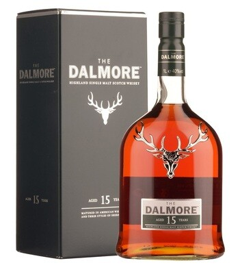 The Dalmore '15 Years Old' Highland Single Malt Whisky