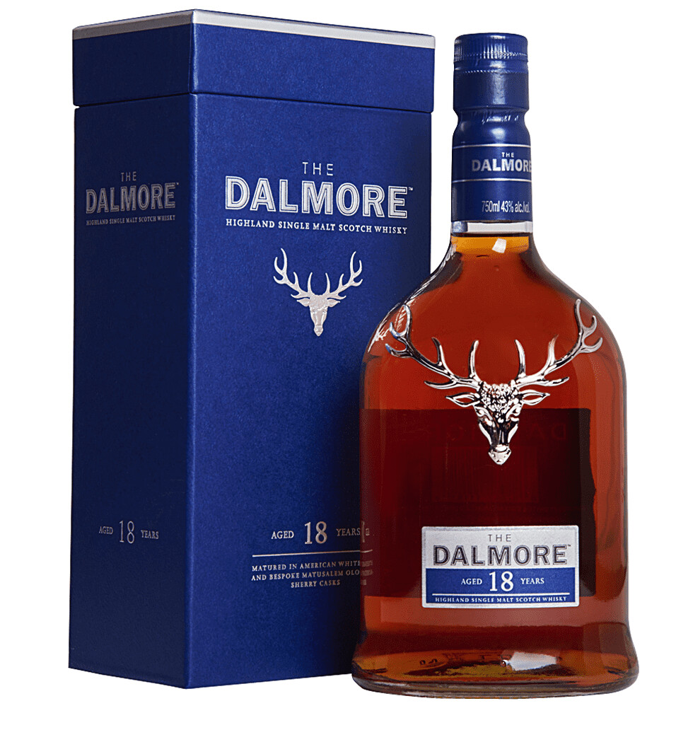 The Dalmore '18 Years Old' Highland Single Malt Whisky