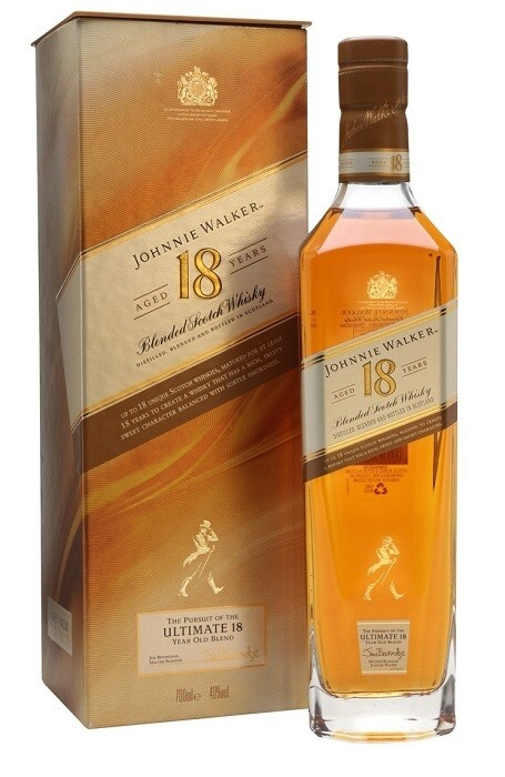 Johnnie Walker '18 Years Old' Blended Scotch Whisky
