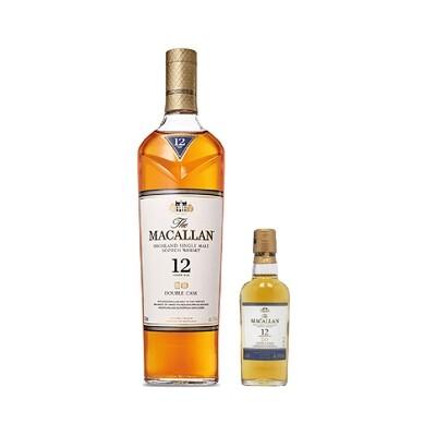 (Free 50ml Miniature) Macallan '12 Years Old Double Cask' Single Malt Whisky
