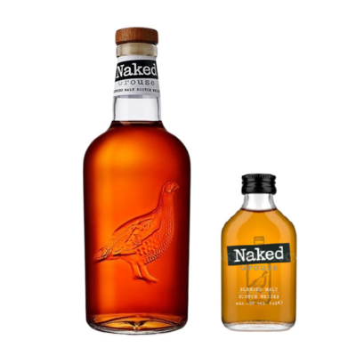 (Free 50ml Miniature) The Naked Grouse Blended Malt Scotch Whisky