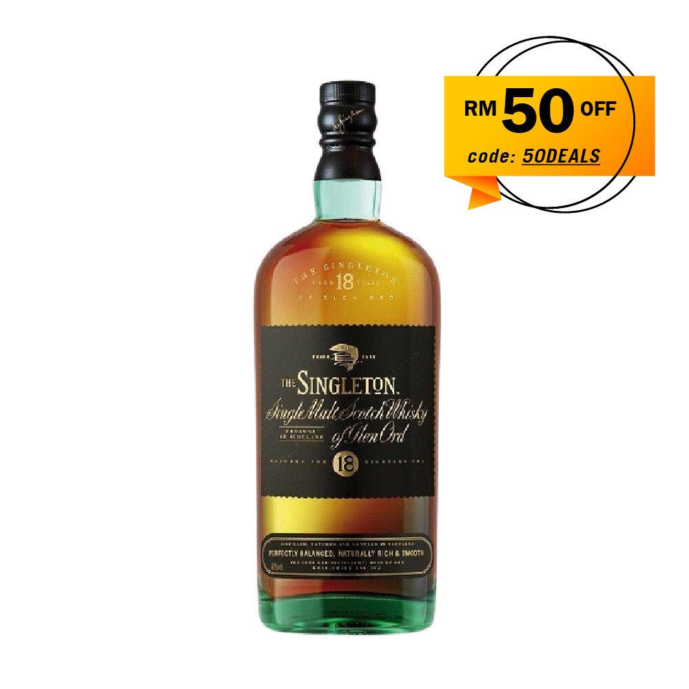 The Singleton of Glen Ord '18 Years Old 'Single Malt Scotch Whisky