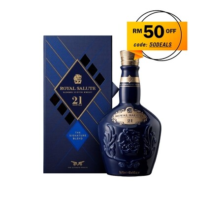 Royal Salute '21 Years Old - The Signature Blends' Scotch Whisky