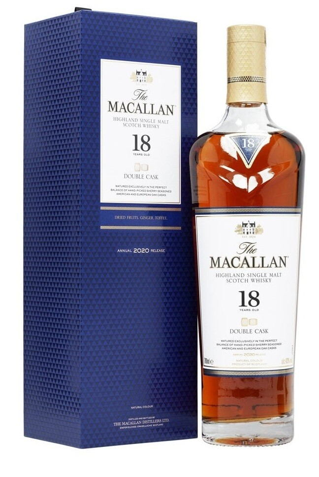 Macallan '18 Years Old Double Cask' Single Malt Whisky