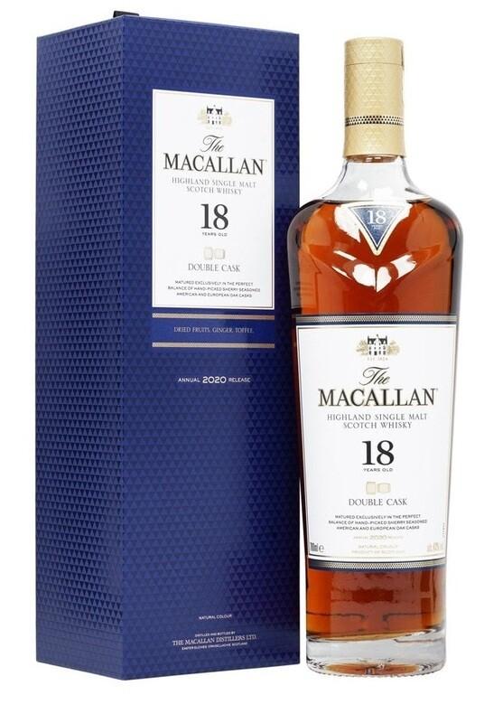 Macallan '18 Years Old Double Cask' Single Malt Whisky