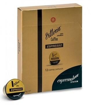 Vittoria 'Espressotoria - Espresso' (Pack of 12 Capsules)