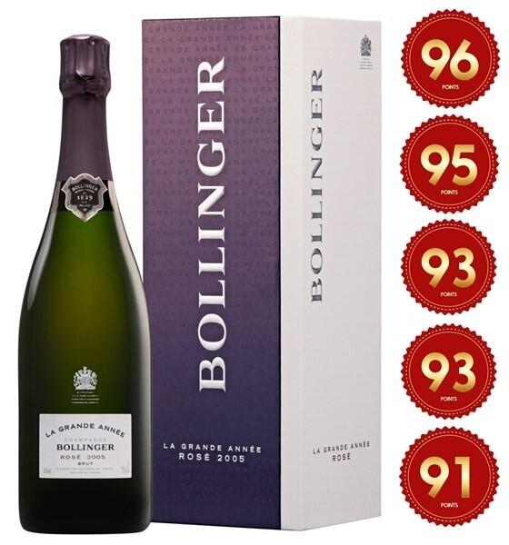 Bollinger 'La Grande Annee' Champagne Rose