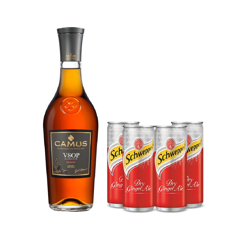 (Free 4 Ginger Ale) Camus 'VSOP Elegance' Cognac