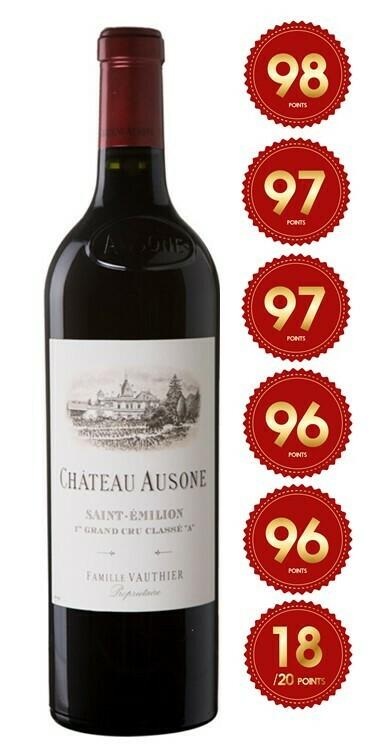 Chateau Ausone - St Emilion 1st Grand Cru 2017 (Pre-Order - 1 week delivery time)