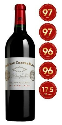 Chateau Cheval Blanc - St Emilion 1st Grand Cru 2017 (Pre-Order - 1 week delivery time)