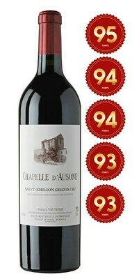 Chapelle d'Ausone - St Emilion Grand Cru 2016 (Pre-Order - 1 week delivery time)