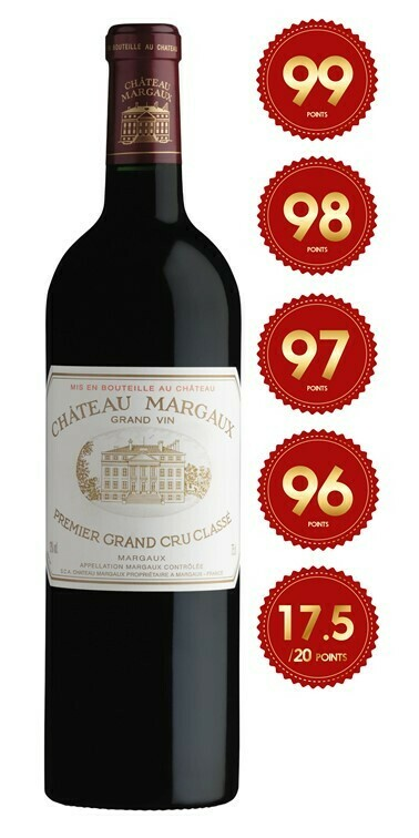 Chateau Margaux - 1st Grand Cru Classe 2017 (Pre-Order - 1 week delivery time)