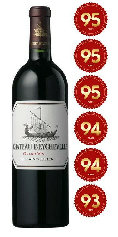 Chateau Beychevelle - St Julien 2017 (Pre-Order - 1 week delivery time)