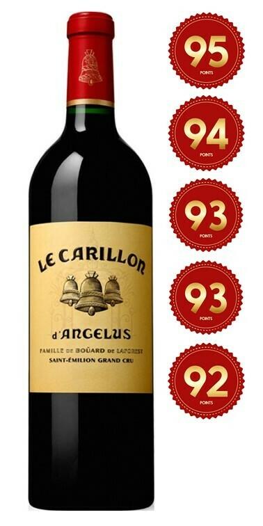 Le Carillon d'Angelus - St Emilion Grand Cru 2016 (Pre-Order - 1 week delivery time)