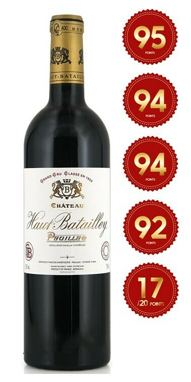 Chateau Haut Batailley - Pauillac 2017 (Pre-Order - 1 week delivery time)