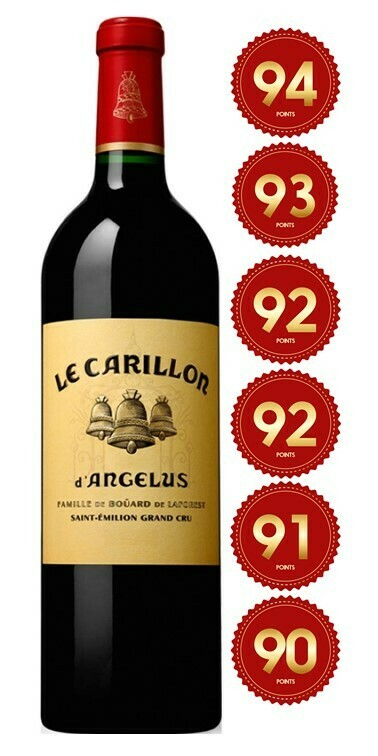 Le Carillon d'Angelus - St Emilion Grand Cru 2017 (Pre-Order - 1 week delivery time)
