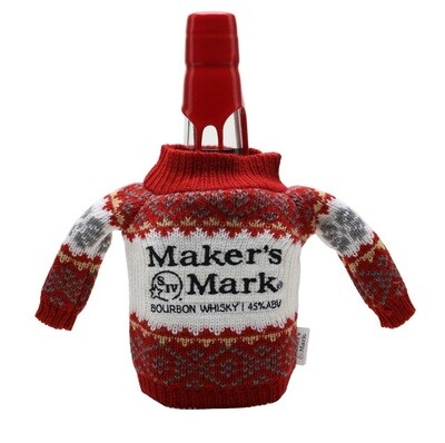 Maker's Mark Bourbon Whisky (Limited Edition Christmas Sweater)