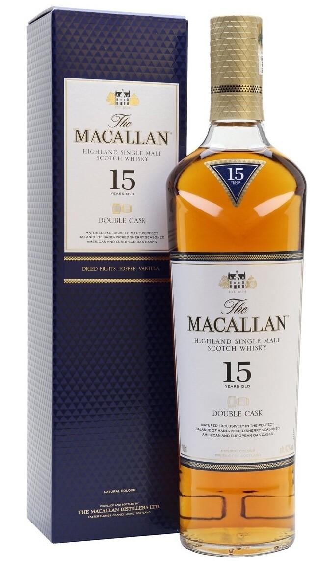 Macallan '15 Years Old Double Cask' Single Malt Whisky