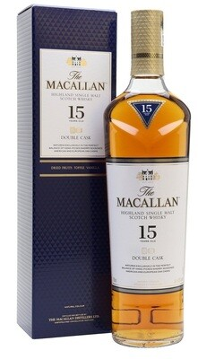 Macallan '15 Years Old Double Cask' Single Malt Whisky