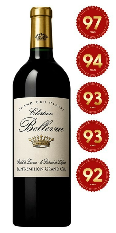 Chateau Bellevue - St Emilion Grand Cru 2016 (Pre-Order - 1 week delivery time)
