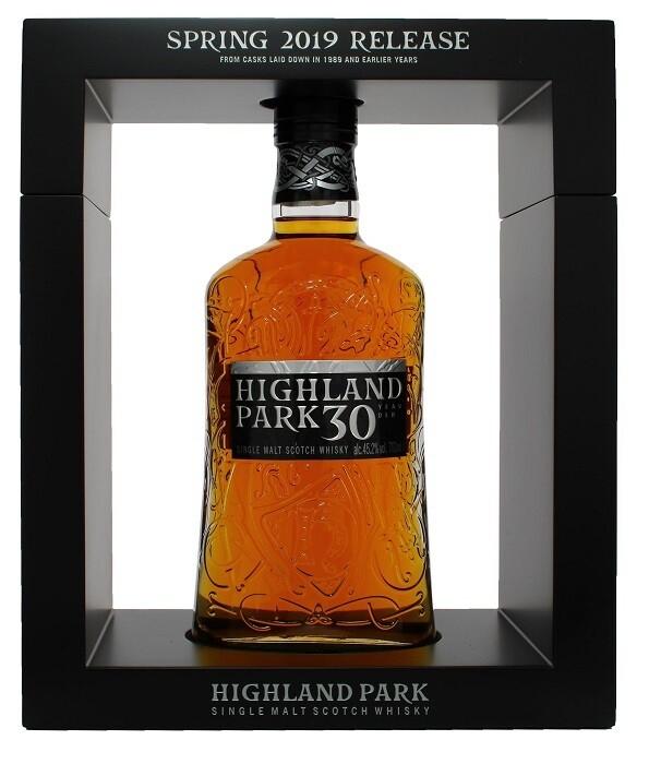 Highland Park '30 Years Old' Single Malt Scotch Whisky (2019 Release)