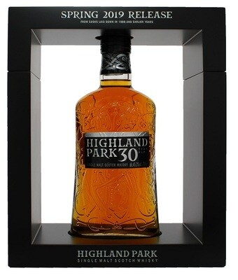 Highland Park '30 Years Old' Single Malt Scotch Whisky (2019 Release)