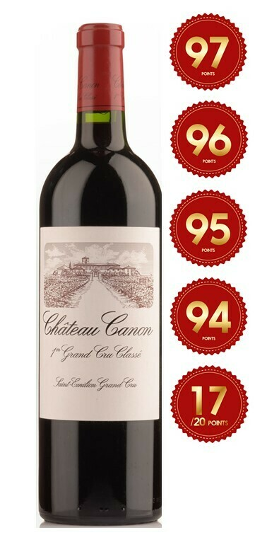Chateau Canon - St Emilion 1st Grand Cru 2017 (Pre-Order - 1 week delivery time)
