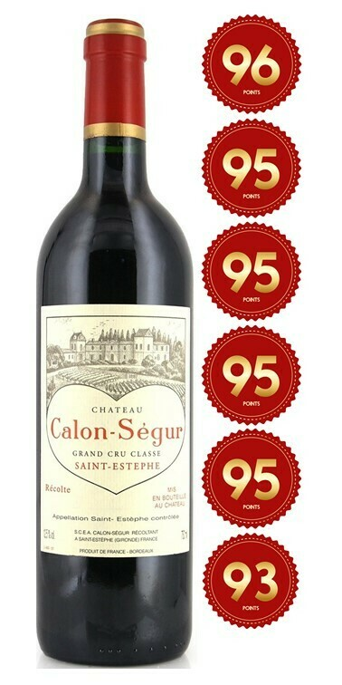 Chateau Calon-Segur - St Estephe 2017 (Pre-Order - 1 week delivery time)