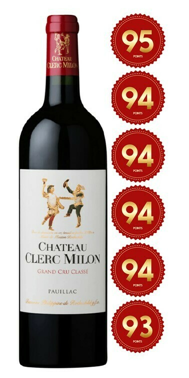Chateau Clerc Milon - Pauillac 2017 (Pre-Order - 1 week delivery time)