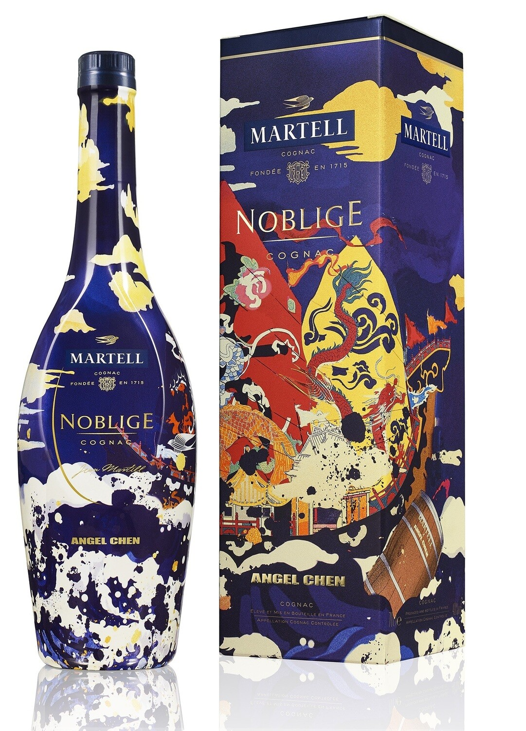 Martell 'Noblige' Cognac  (Limited Edition CNY Gift Pack by Angel Chen) - Pre-Order, delivery in early December