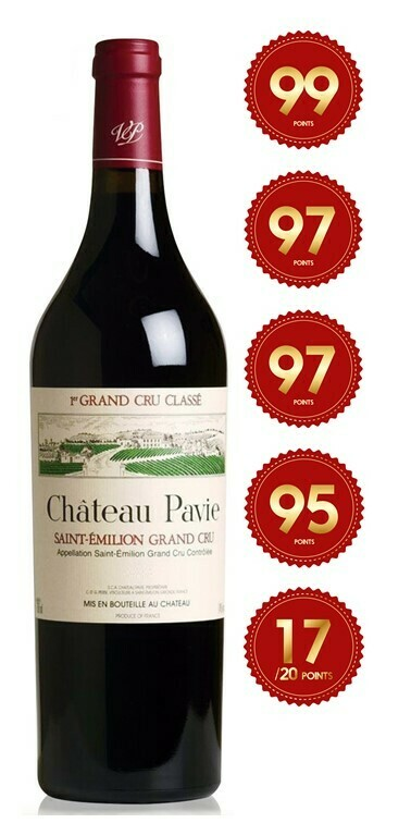 Chateau Pavie - St Emilion 1st Grand Cru 2017 (Pre-Order - 1 week delivery time)