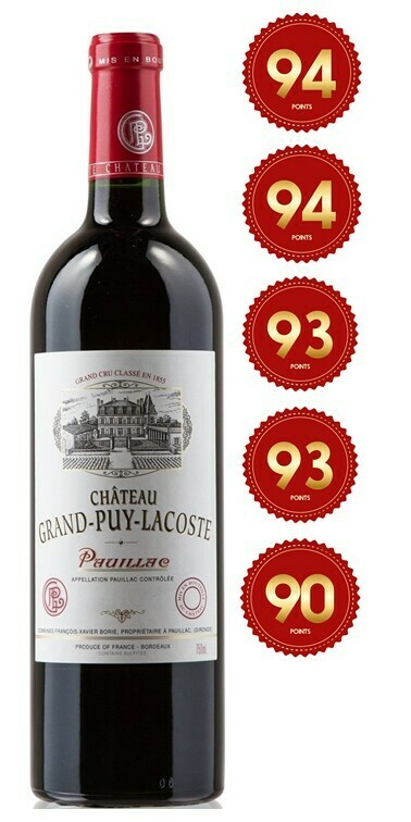 Chateau Grand-Puy-Lacoste - Pauillac 2017 (Pre-Order - 1 week delivery time)