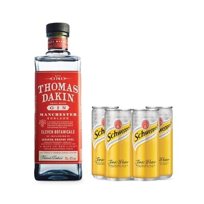 (Free 4 Tonic Water) Thomas Dakin 'Small Batch' Gin