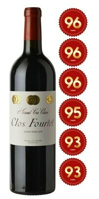 Clos Fourtet - St Emilion 1st Grand Cru 2017 (Pre-Order - 1 week delivery time)
