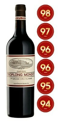 Chateau Troplong Mondot - St Emilion 1st Grand Cru 2017 (Pre-Order - 1 week delivery time)